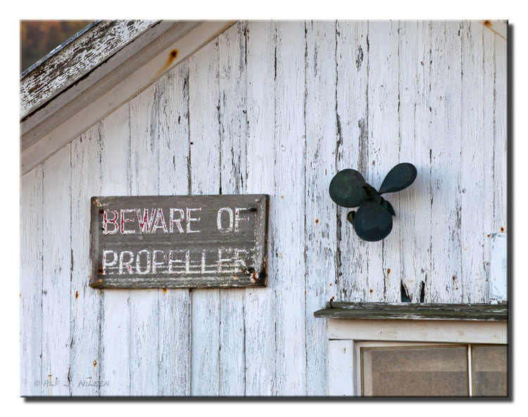beware of propeller